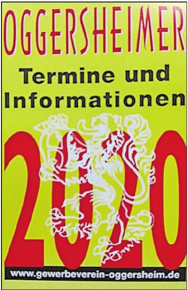 Liegt an 126 Stellen aus: der Kalender für Oggersheim. FOTO: HAH