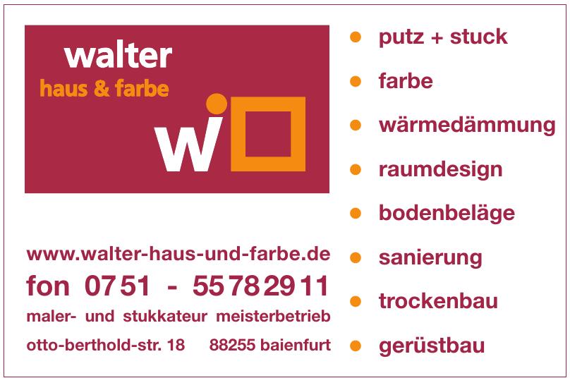 Markus Walter Maler- und Lackierbetrieb