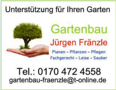 Gartenbau Jürgen Fränzle