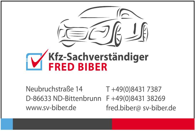 Kfz-Sachverständiger Fred Biber
