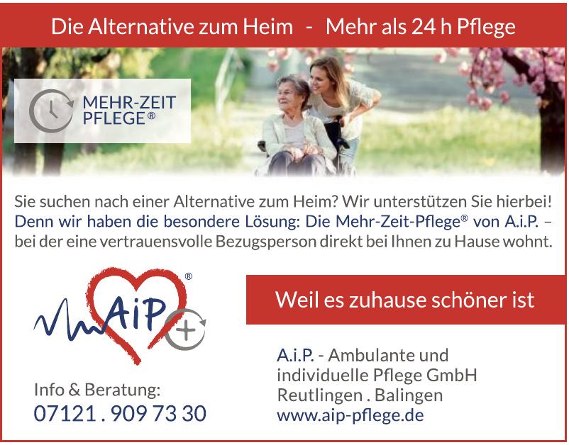 A.i.P. - Ambulante und individuelle Pflege GmbH