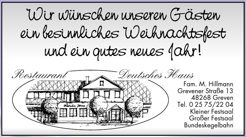Restaurant Deutsches Haus