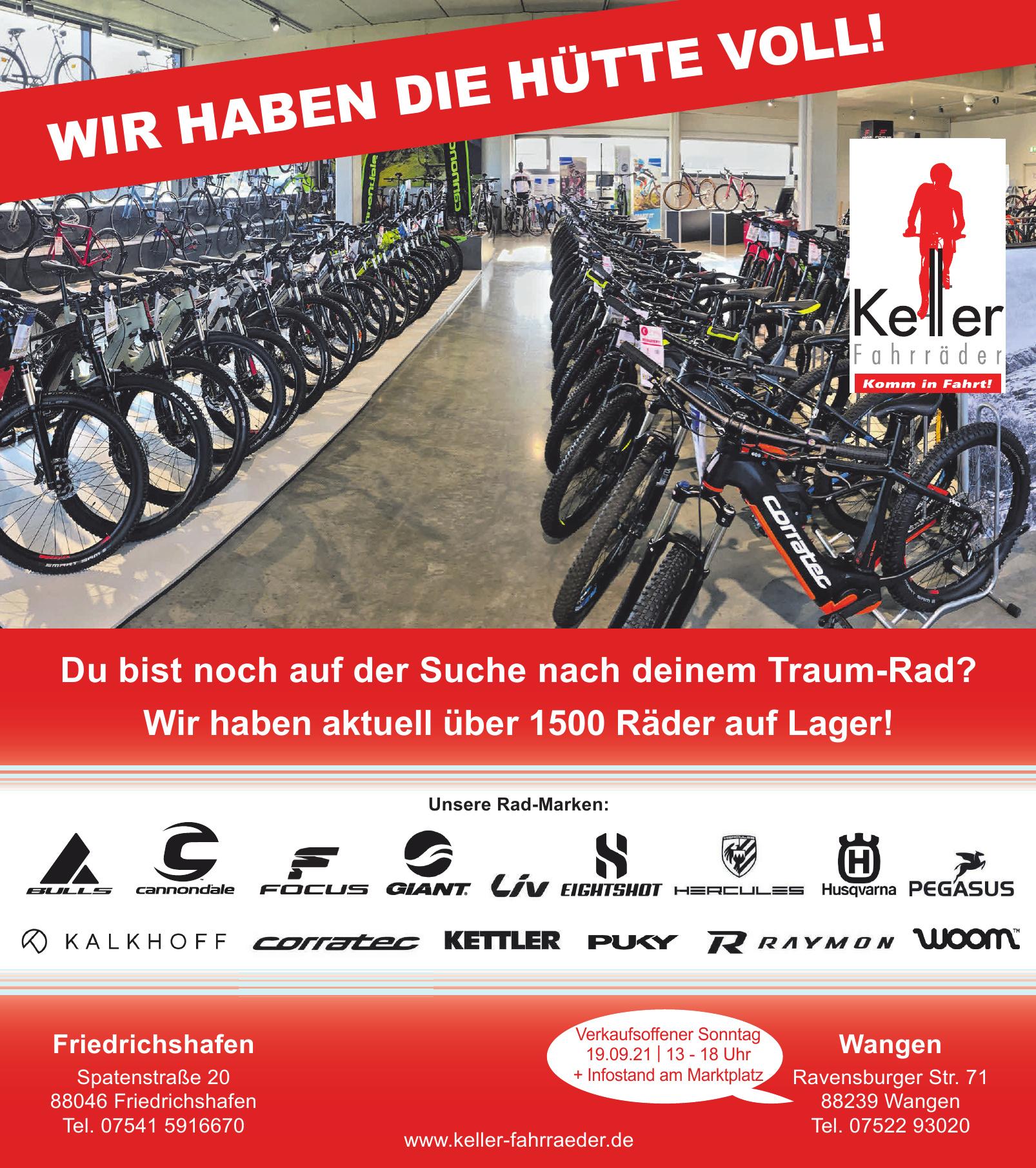 Keller Fahrräder