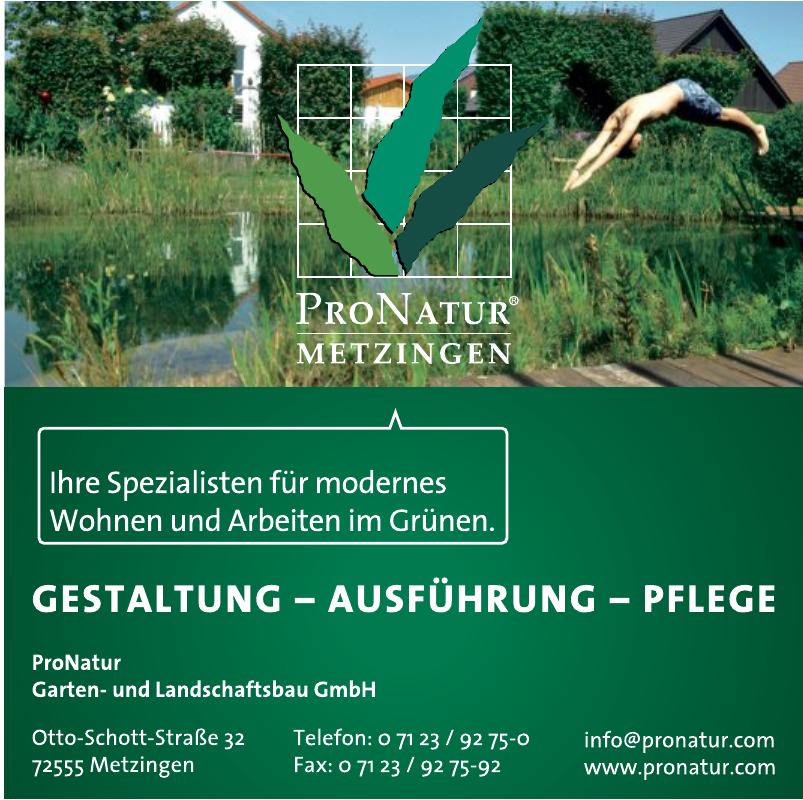 Ppronatur Garten- und Landschaftsbau GmbH