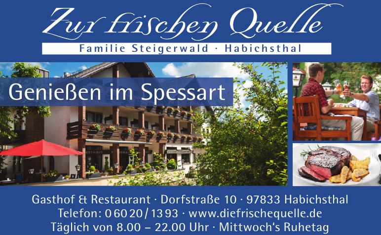 Zur frischen Quelle Gasthof & Restaurant