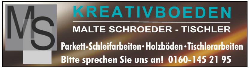 Malte Schroeder - Tischler