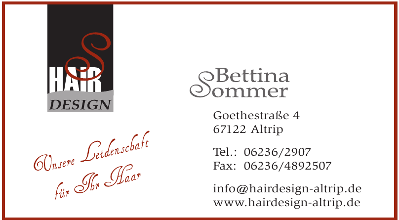 Hairdesign Altrip