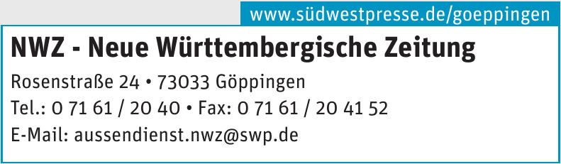 NWZ - Neue Württembergische Zeitung