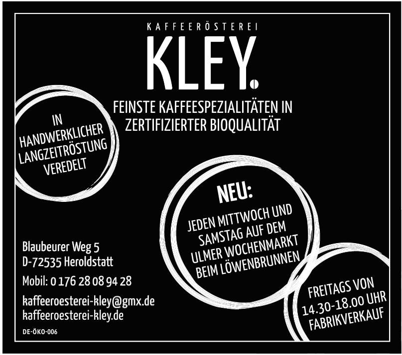 Kaffeerösterei Kley