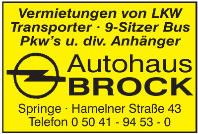 Autohaus Brock