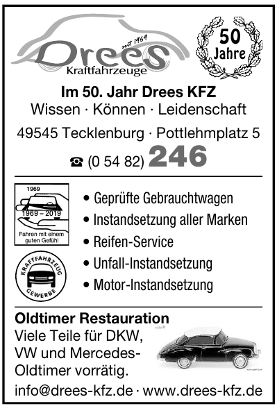 Wilhelm Drees Kraftfahrzeuge
