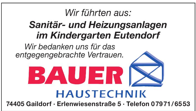 Bauer Haustechnik