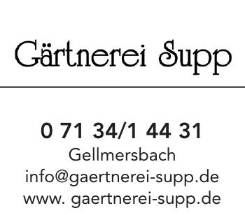 Gärtnerei Supp