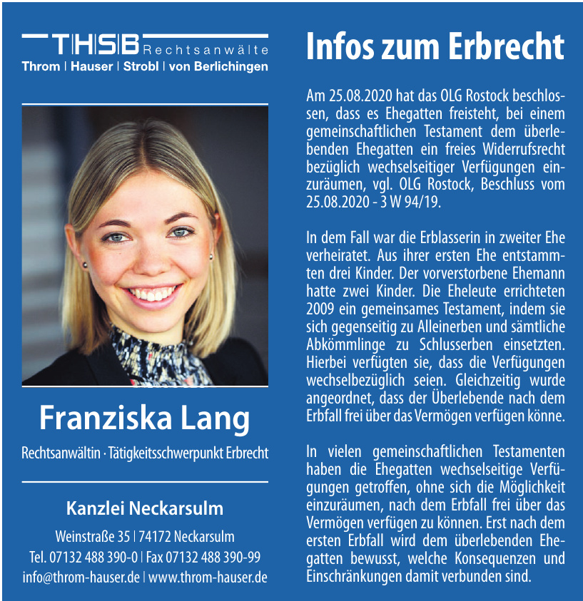 THSB Rechtsanwälte