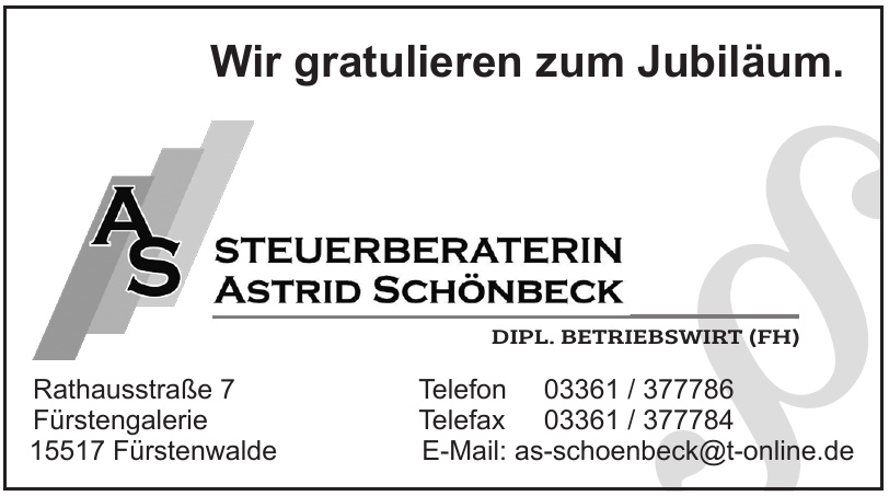 Astrid Schönbeck