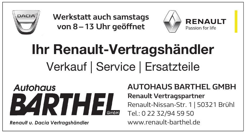 Autohaus Barthel GmbH