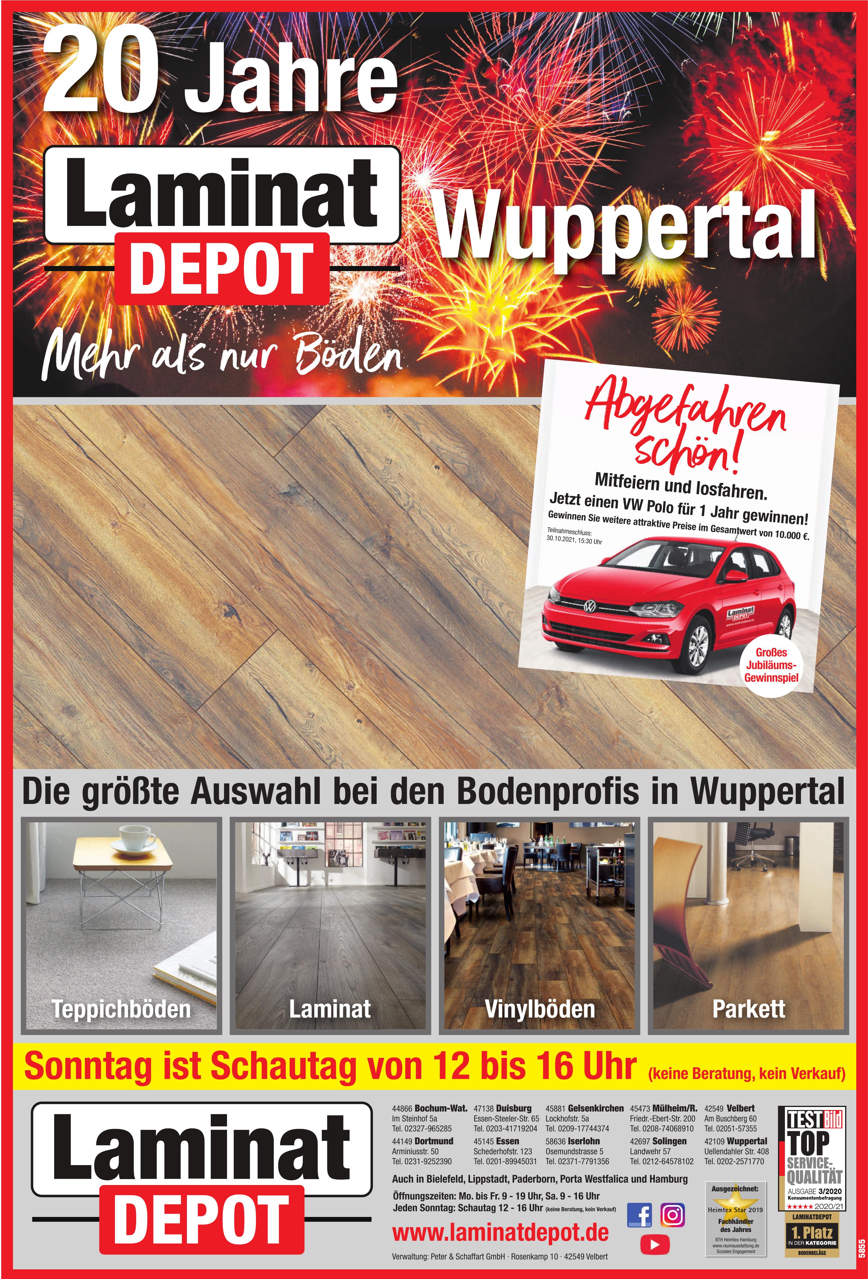 Laminat Depot - Peter & Schaffart GmbH