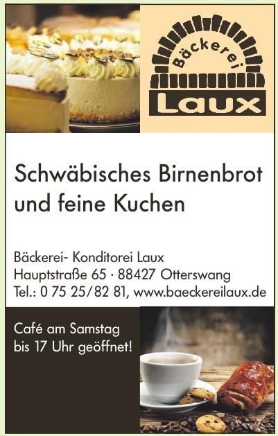 Bäckerei- Konditorei Laux