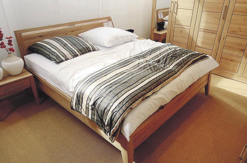 Das Schlafzimmer sollte der ruhigste Raum in der Wohnung sein. Foto: Busche