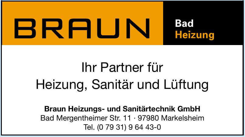 Braun Heizungs- und Sanitärtechnik GmbH