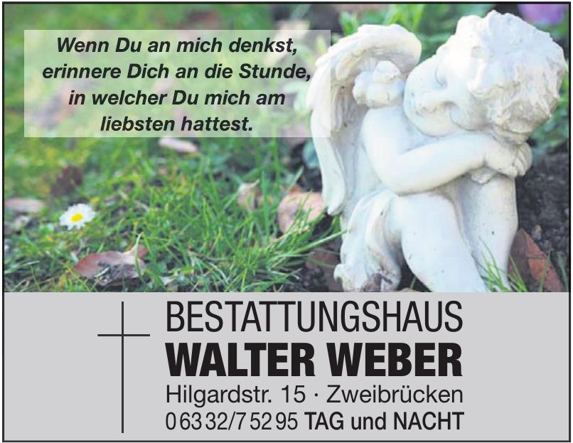 Bestattungshaus Walter Weber