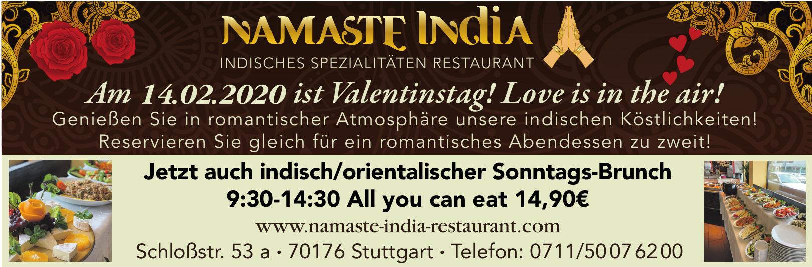 Restaurant Namaste India
