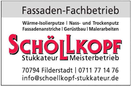 Schöllkopf - Stukkateur - Meisterbetrieb