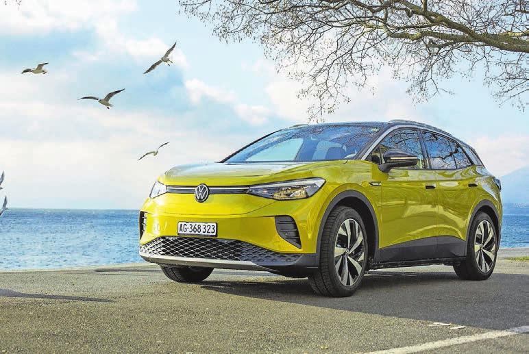 Der ID.4 von VW ist bereits erhältlich: ab 39 050 Franken und mit bis zu 522 Kilometern Reichweite laut Werk.