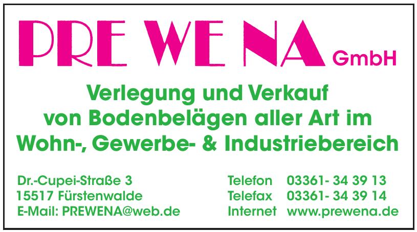 PRE WE NA GmbH