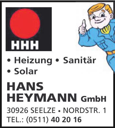 HHH Hans Heymann GmbH