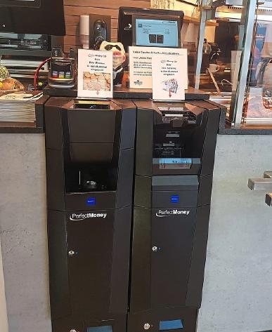Für unkompliziertes Bezahlen sorgt der neue Bezahlautomat in der Metzgerei.