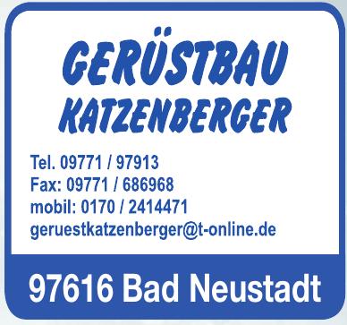 Gerüstbau Katzenberger