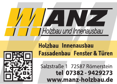 Manz – Holzbau und Innenausbau