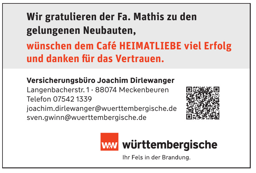 Württembergische Versicherungsbüro Joachim Dirlewanger