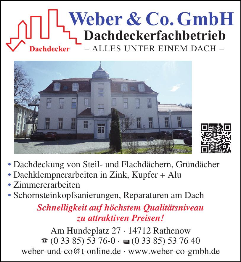 Weber & Co. GmbH Dachdeckerfachbetrieb
