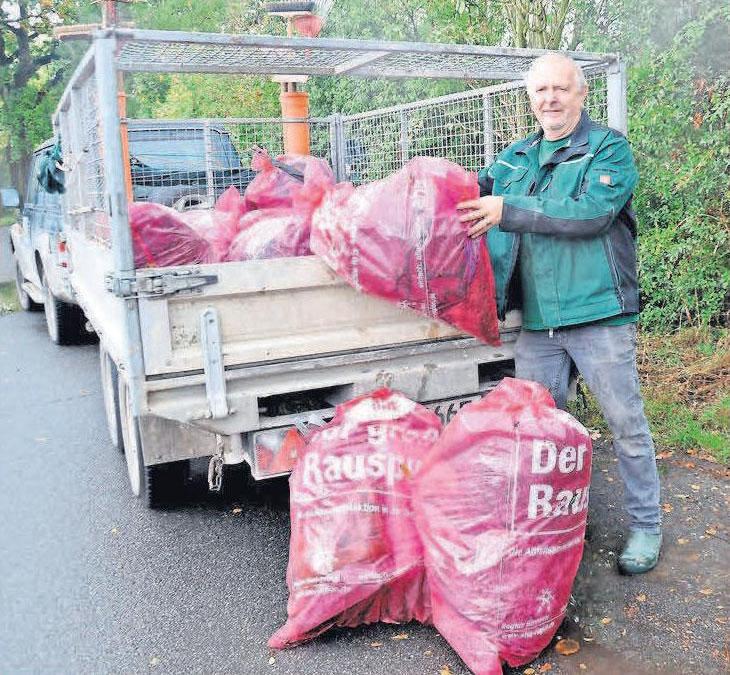 Am letzten Sonnabend im März lädt das Stadtmarketing zum Müllsammeln in Lehrtes Straßen ein.