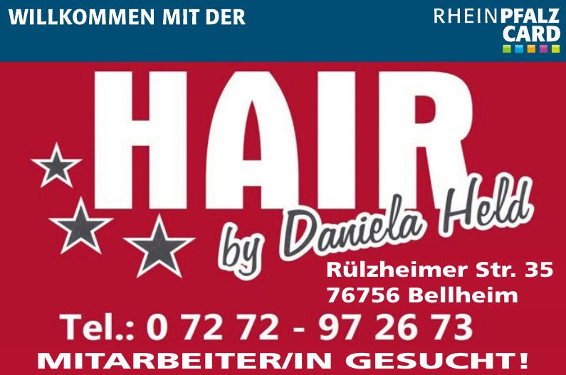 Hair by Daniela Held