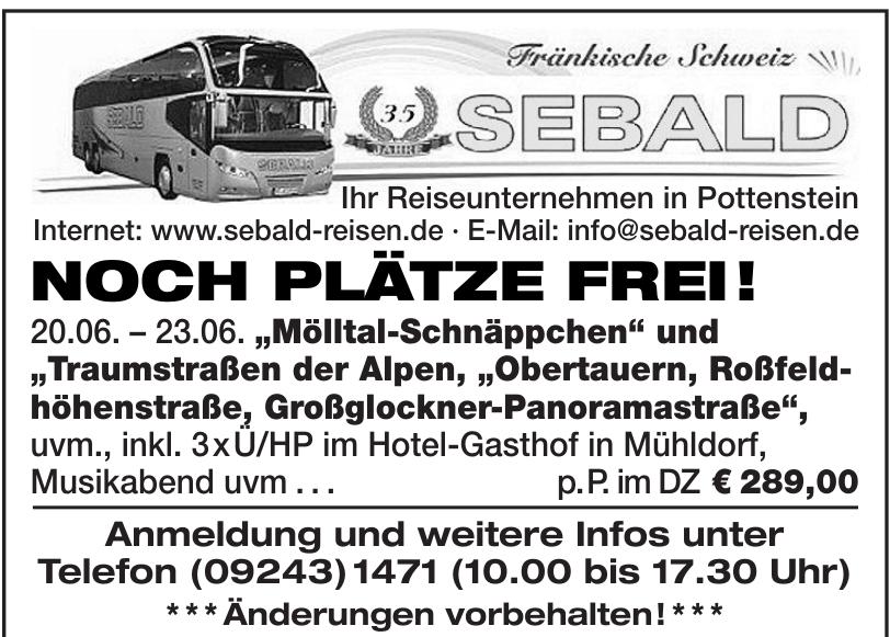 Fränkische Schweiz Sebald