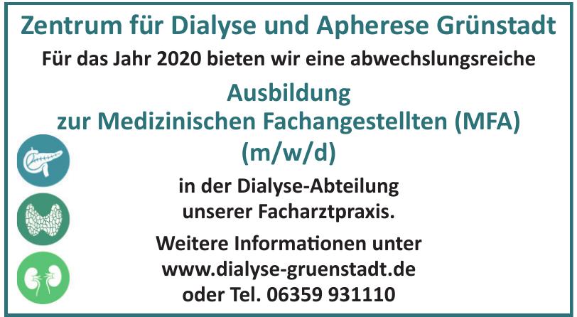 Zentrum für Dialyse und Apherese Grünstadt