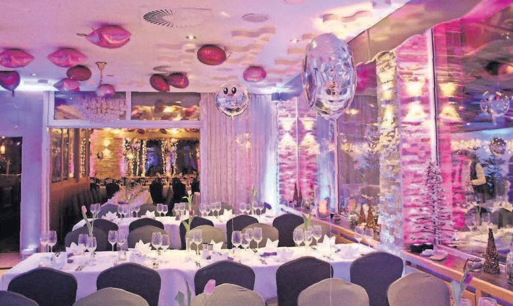 Zu Silvester kann man im Restaurant Springhorstsee ausgiebig feiern.