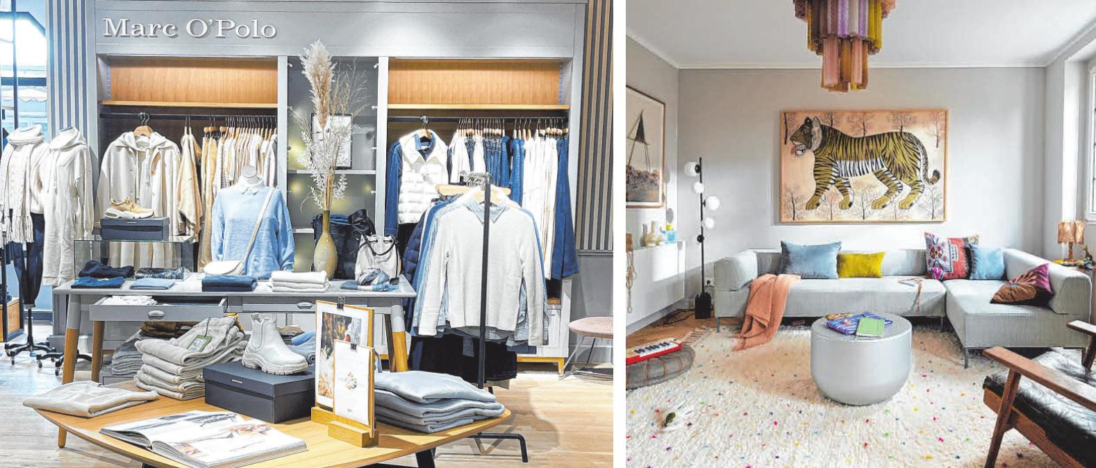 Die Händler der Aalener Innenstadt legen sich für den verkaufsoffenen Sonntag ins Zeug und präsentieren ihre Ware. Im Modehaus Funk und Polsterstudio Husel gibt es für die Kunden einiges zu sehen. FOTOS: FREISTIL/ FUNK