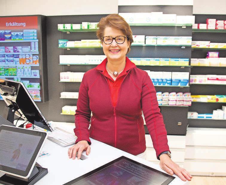 Apothekerin Sylvia Maaß leitet seit dem 1. Juli die Löwen- und die Europa-Apotheke.