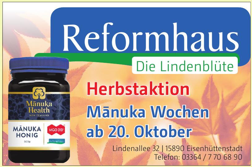 Reformhaus Die Lindenblüte