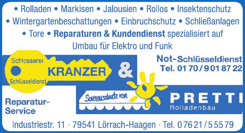 Kranzer & Pretti GmbH Schlosserei & Rollladenbau