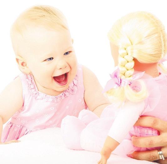 Puppen können mit Weichmachern belastet sein Foto: pixabay