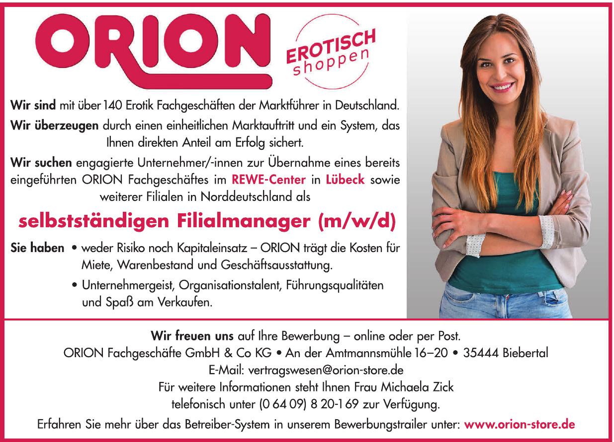 Orion Fachgeschäft GmbH & Co. KG