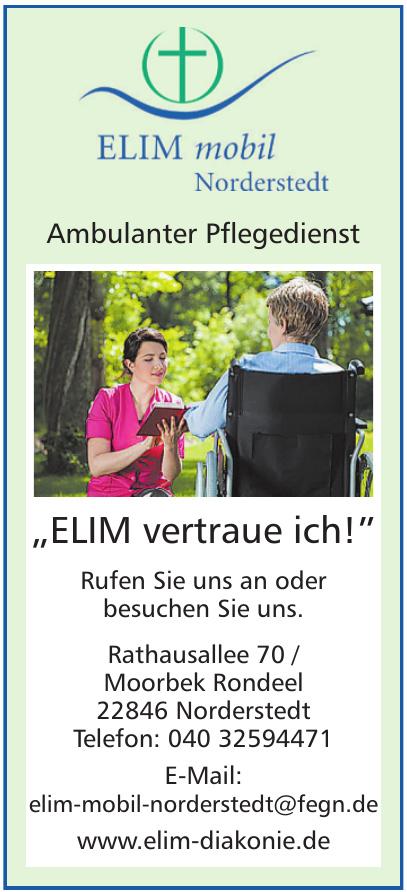 Elim mobil Norderstedt - Ambulanter Pflegedienst