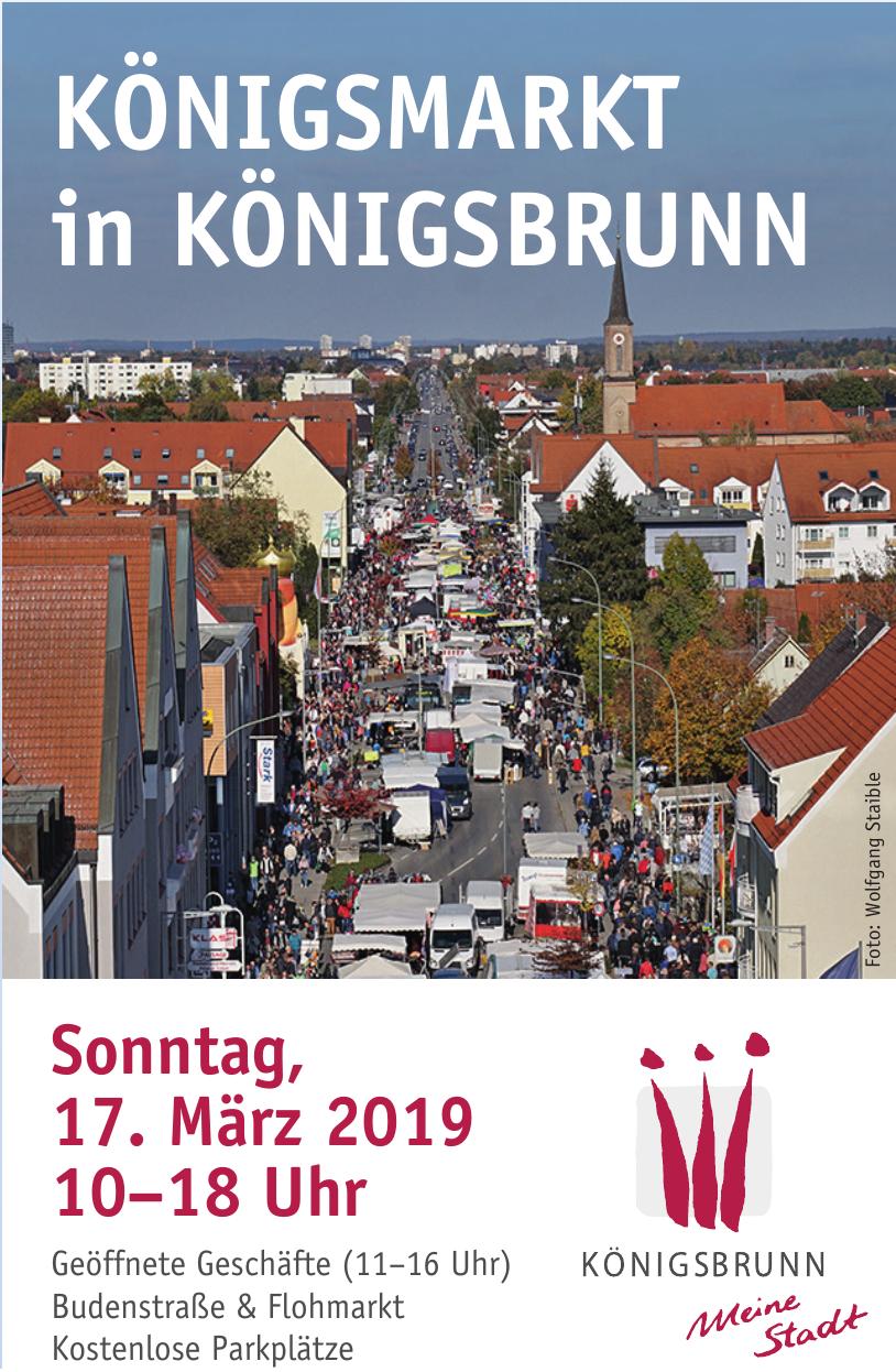 Königsmarkt in Königsbrunn