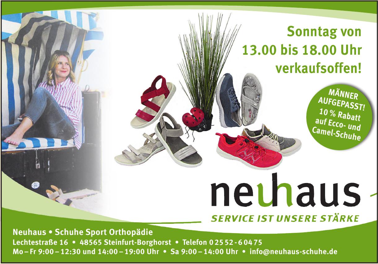 Neuhaus - Schuhe Sport Orthopädie