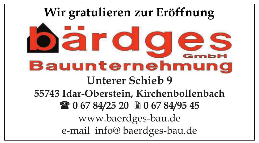 Bärdges Bauunternehmung GmbH